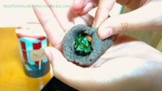 montagem dos bolinhos // modelage des boulettes