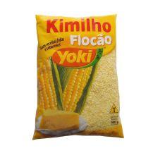 farine de maïs précuite et floquée