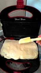 Couvrez avec la pâte qui reste.