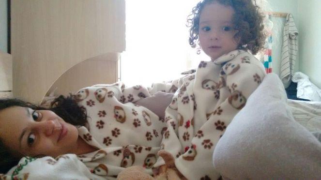 Tati Lina et sa filleule Maya